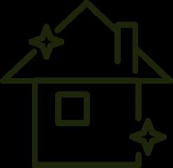 Csillogó ház